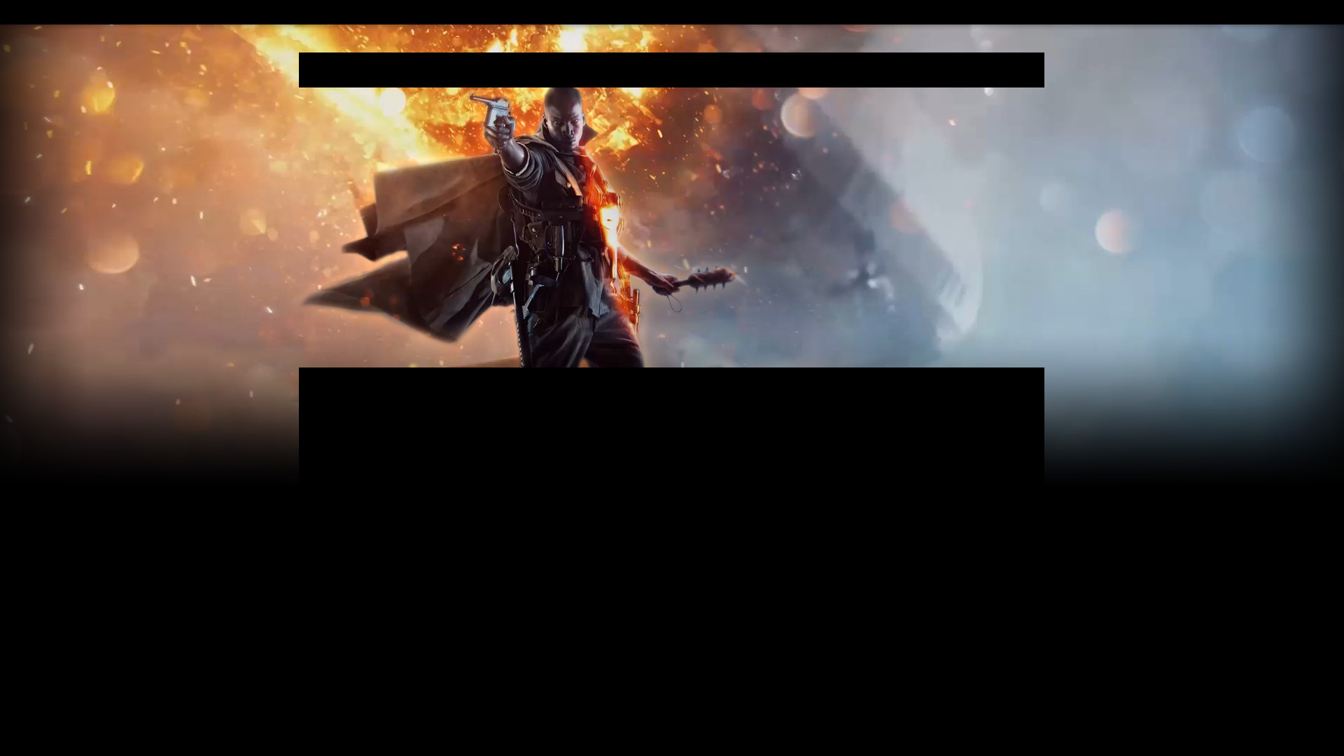BATTLEFIELD 1 [PC/XBOX ONE/PS4] video game
