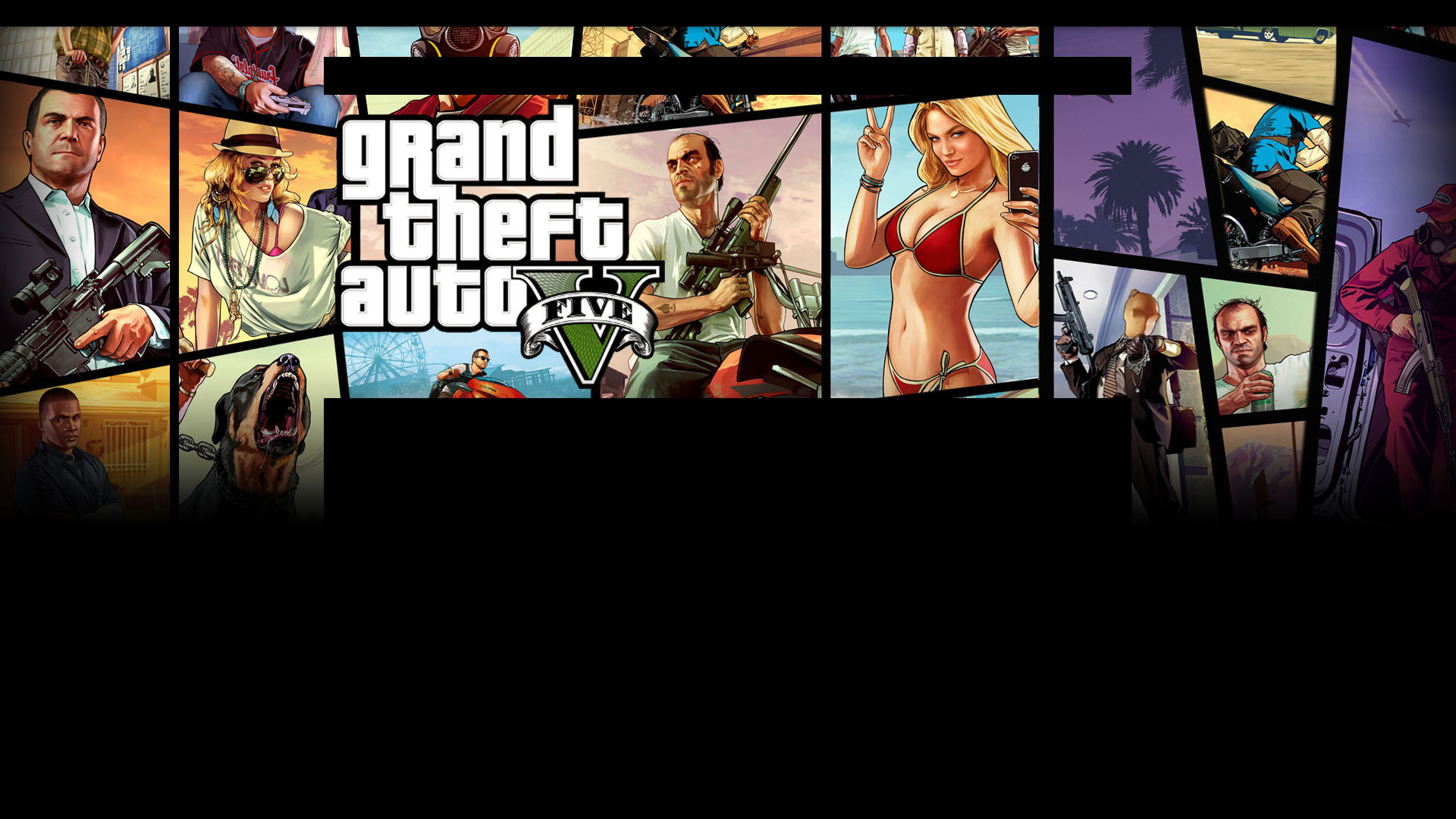 GRAND THEFT AUTO V PC/PS3/PS4 video game