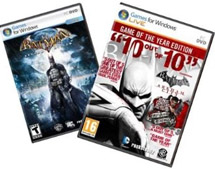 Discounted Batman Arkham GOTY Pack