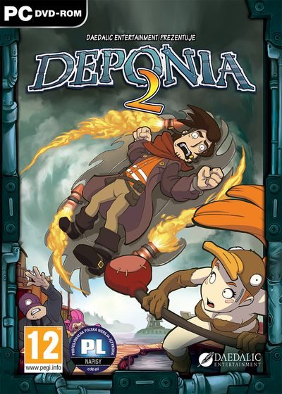 Deponia 2: Chaos on Deponia cd key