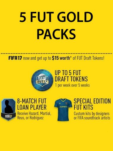 FIFA 17 FUT Gold Pack