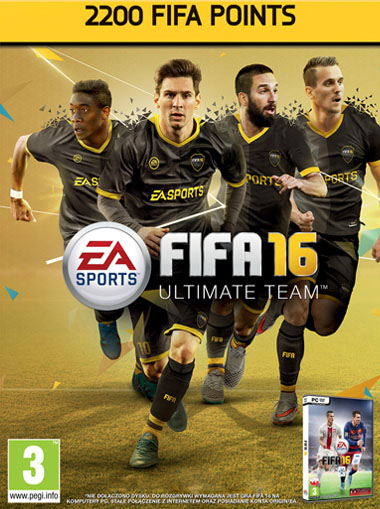 FIFA 2200 Ultimate Team Points (FIFA 16) cd key
