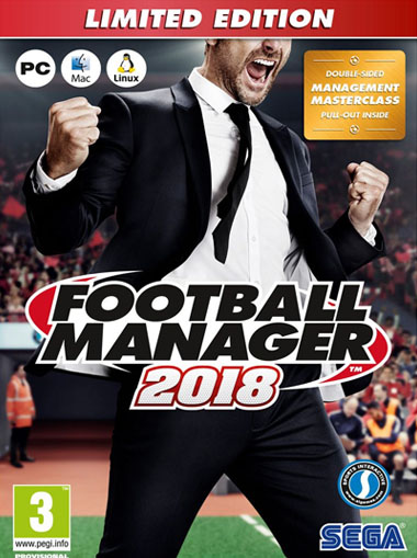 Football Manager 2018 Limited Edition cd key