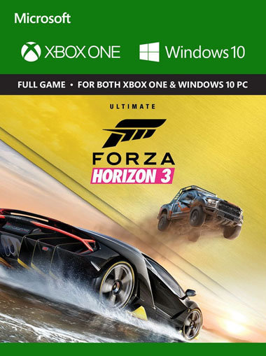 kaufen forza horizon 3 ultimate edition xbox one windows. Black Bedroom Furniture Sets. Home Design Ideas
