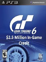 Buy Gran Turismo 6: $2.5 Million In-Game Credit - PS3 (Digital Code) Game Download