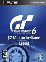 Buy Gran Turismo 6: $7 Million In-Game Credit - PS3 (Digital Code) Game Download