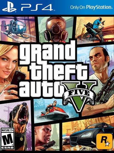 GTA 5 Grand Theft Auto 5 PS4
