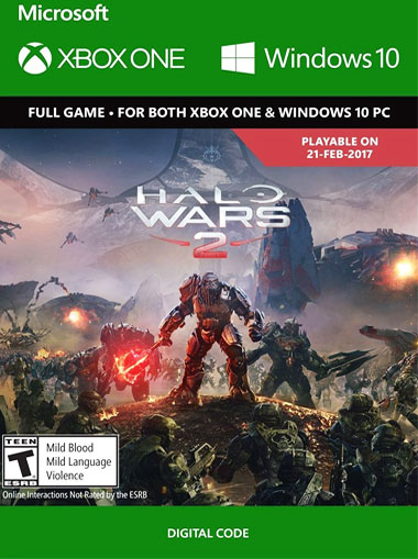 Halo Wars 2 - Xbox One/Windows 10 (Digital Code) cd key