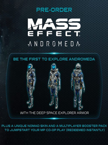 Mass Effect Andromeda - Deep Space Pack DLC cd key