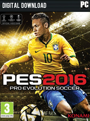 Pro Evolution Soccer 2016 (PES 2016) cd key