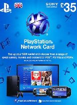 Buy Playstation Network (PSN) Card £35 GBP Game Download