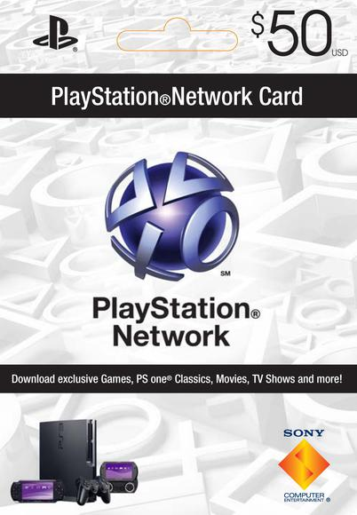 Playstation Network (PSN) Card $50 USA cd key