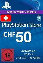 Buy Playstation Network (PSN) Card 50 CHF (Switzerland) Game Download