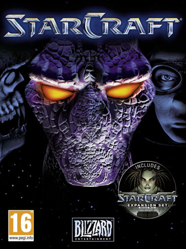 Starcraft with Brood Wars Expansion (Anthology) cd key