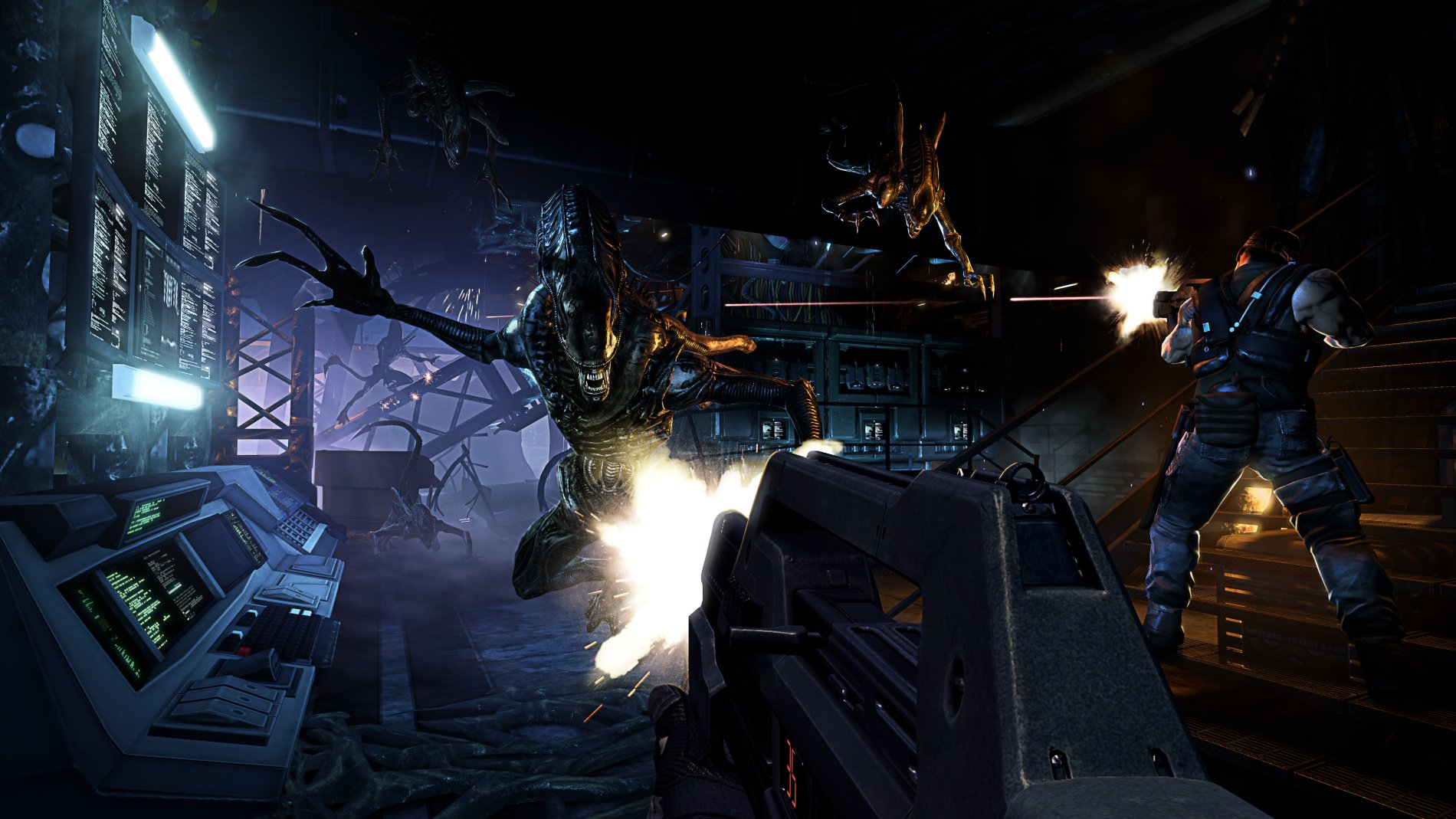 aliens colonial marines computer - photo #10