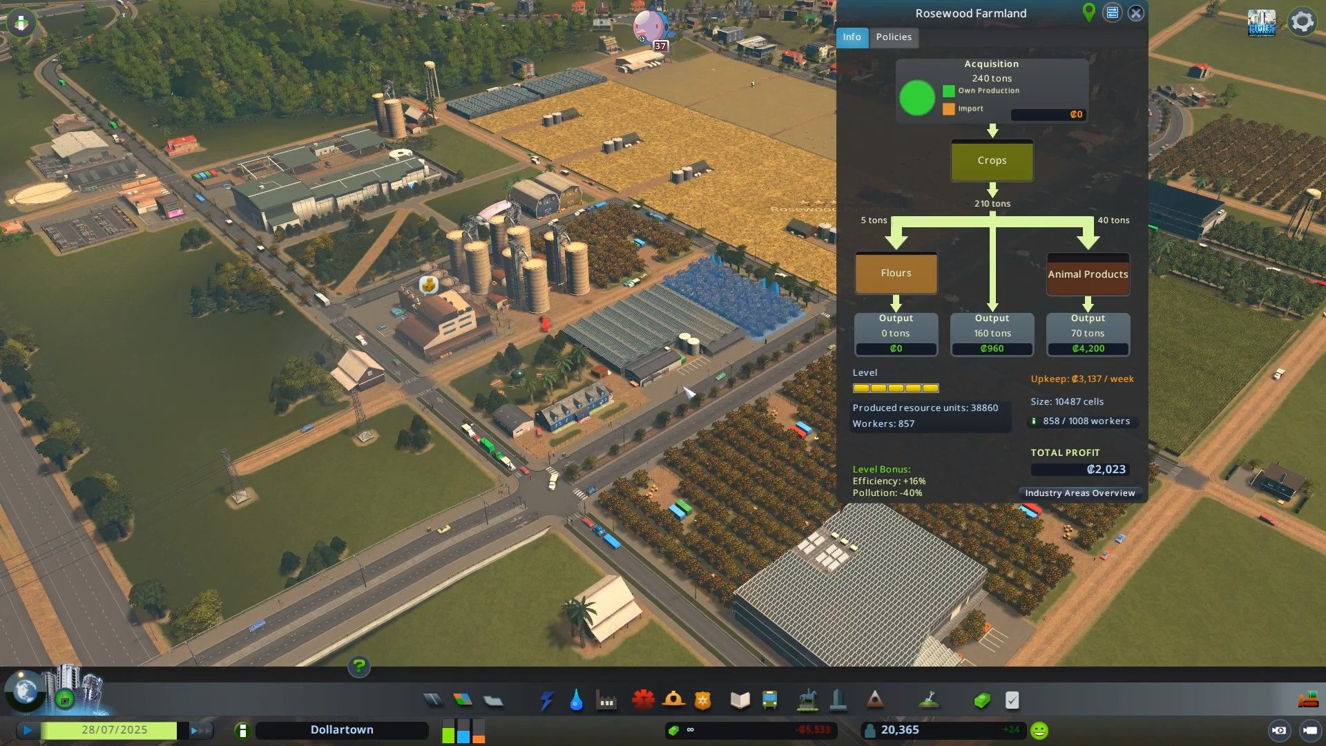 Cities Skylines Industries Test