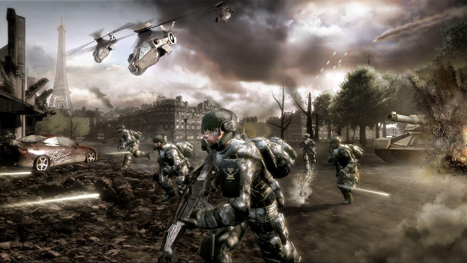 Hd wallpaper 3 tom clancy s endwar online - Buy Tom Clancy S Endwar Downloadtom Clancy S Endwar Download