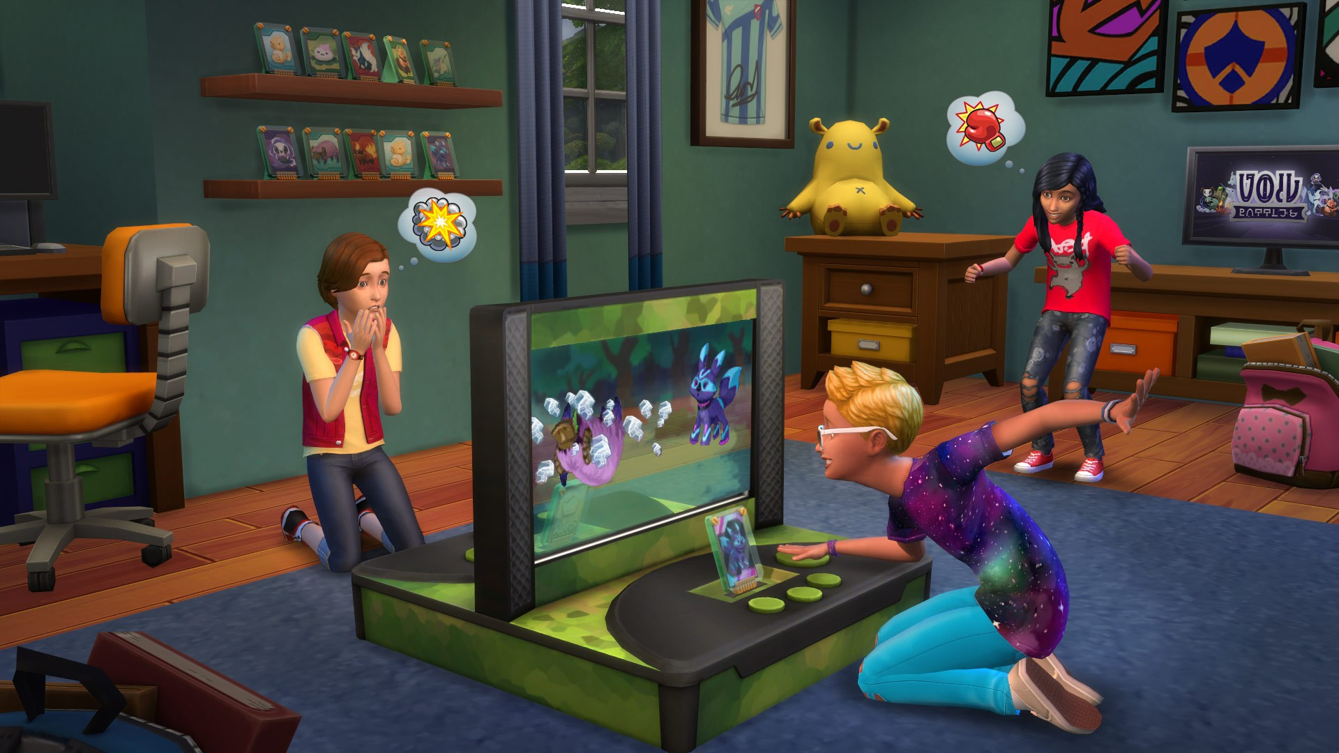 Buy the sims 4 bundle pack 4 pc game origin download for Where can i get wallpaper for my room