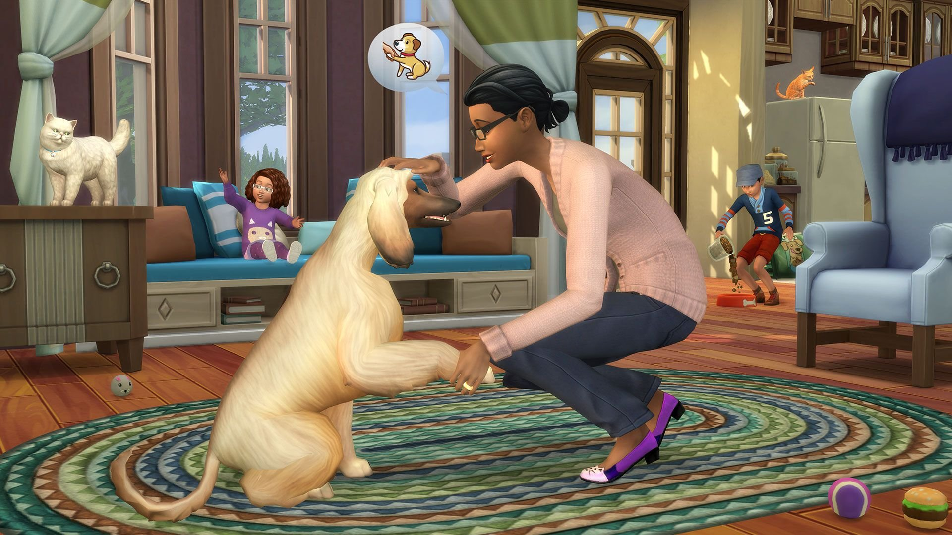Sims  Cats And Dogs No Mail
