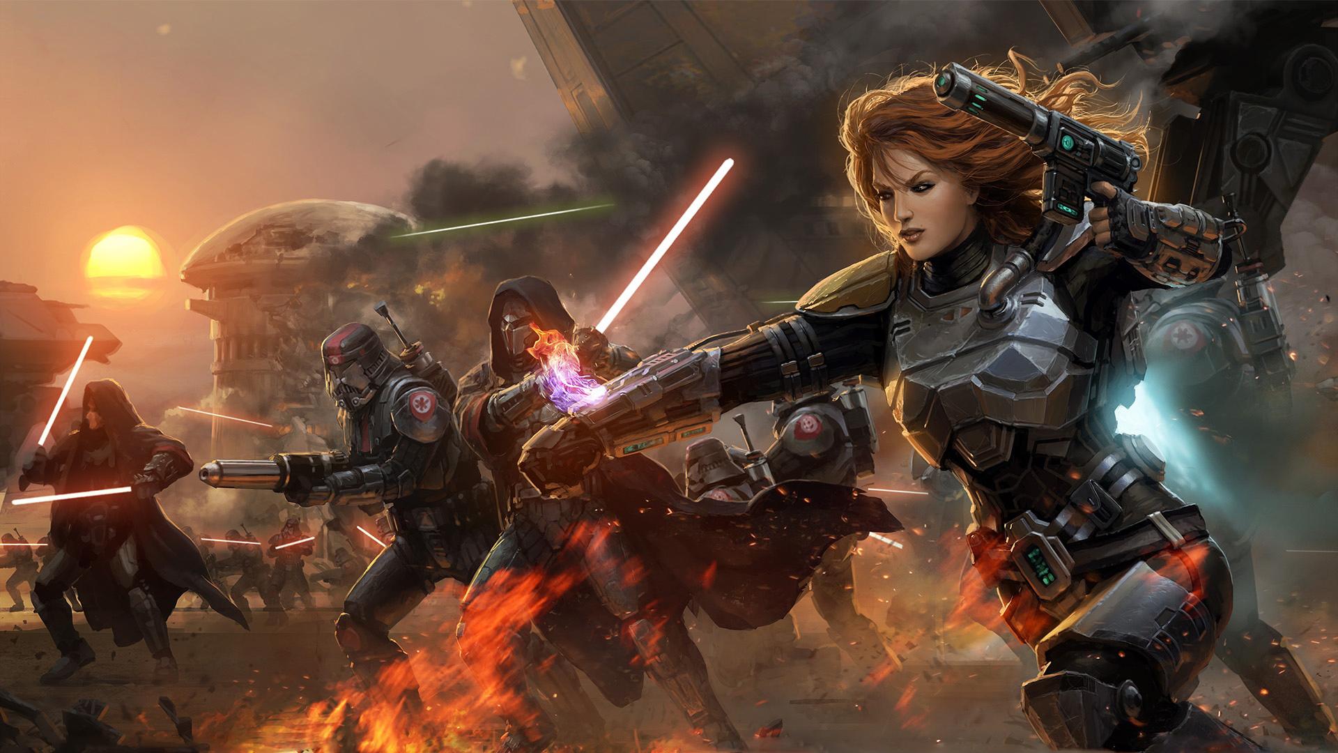 Star Wars: The Old Republic уже 5 лет