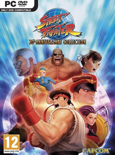 Street Fighter 30th Anniversary Collection cd key