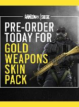 Buy Tom Clancys Rainbow Six Siege - Gold Weapon Pack DLC Game Download