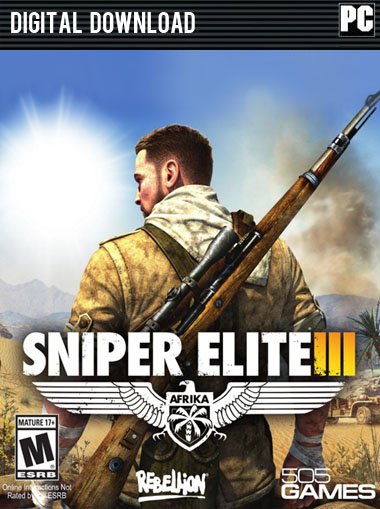 Sniper Elite 3 Standard Edition  cd key