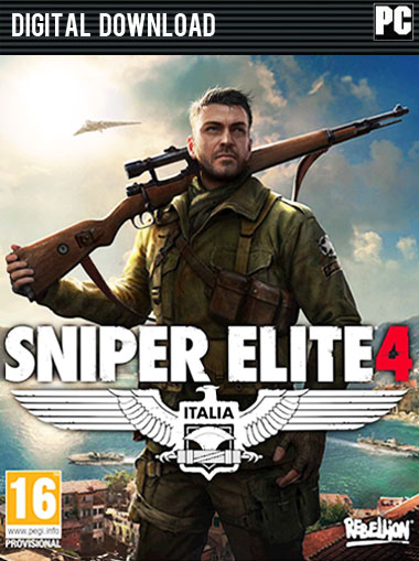Sniper Elite 4 cd key