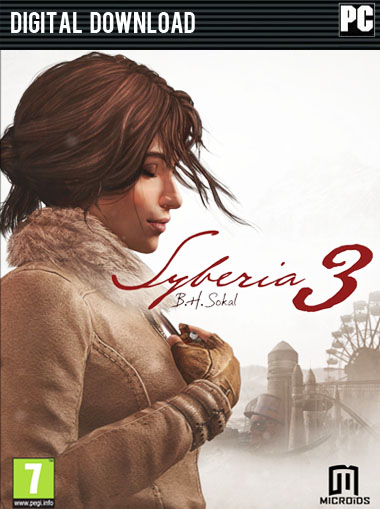 Syberia 3 Limited Edition cd key