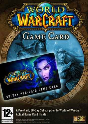 World of Warcraft (EU) [60 Day Play Card] cd key