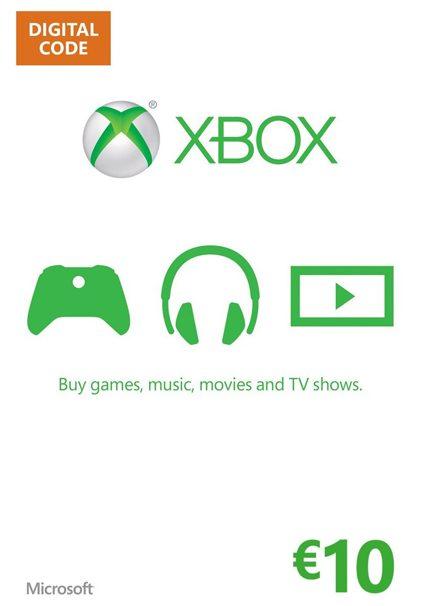 Xbox 360 Xbox One Live Guthaben 10 EUR