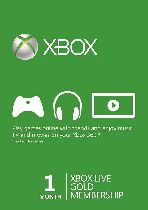 Buy Microsoft Xbox Live 1 Month Gold Membership Card Game Download