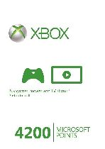 Buy Microsoft Xbox Live 4200 Points (EU) Game Download
