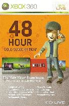 Buy Microsoft Xbox Live 48 Hours Gold Membership Card Game Download