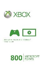 Buy Microsoft Xbox Live 800 Points (EU) Game Download