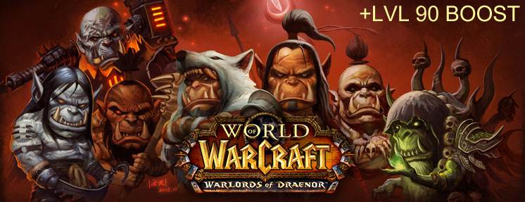 World of WarCraft: Warlords of Draenor + BOOST (EU) Battle.net
