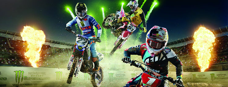 Monster Energy Supercross Steam