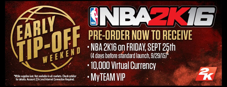 NBA 2K16 Steam