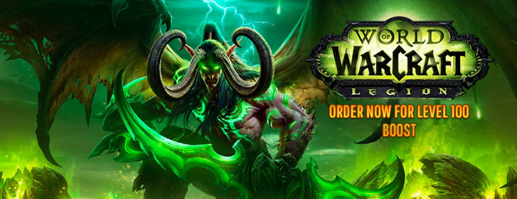 World of WarCraft: Legion + 100 LVL BOOST (EU) Battle.net