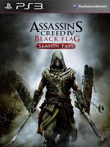 Assassin's Creed 4 Black Flag Season Pass PS3 PS4