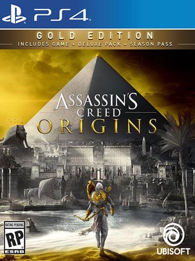 Buy Assassins Creed Origins Gold Edition Ps4 Digital Code
