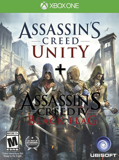 Buy Assassin S Creed Unity Black Flag Xbox One Digital Code