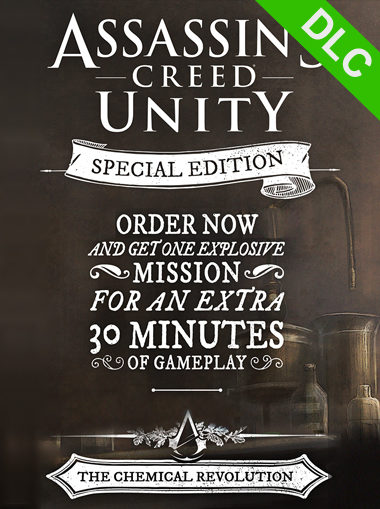 Assassin's Creed Unity - Special Edition Upgrade (DLC Only) cd key