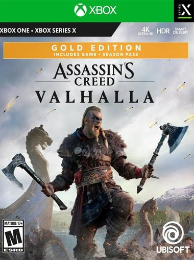 Assassins Creed Valhalla - Gold Edition Xbox One/Series X|S  cd key