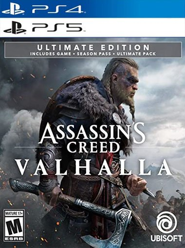 Assassins Creed Valhalla Ultimate Edition - PS4/PS5 (Digital Code) cd key