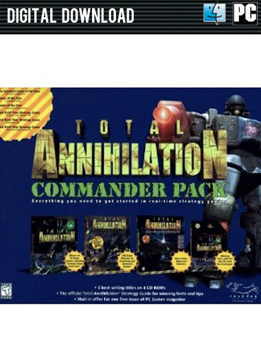 Total Annihilation: Commander Pack cd key