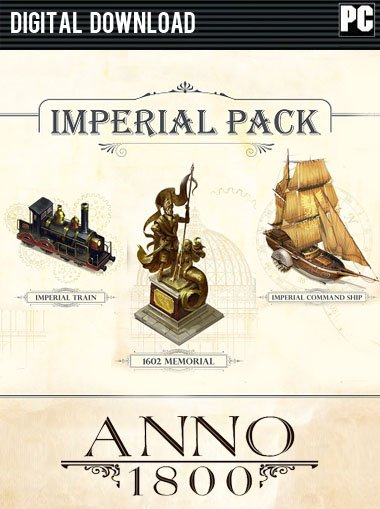 Anno 1800 - The Imperial Pack DLC [EU/RoW] cd key