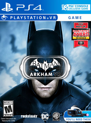 Batman Arkham PS4 VR