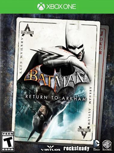 Batman: Return to Arkham - Xbox One (Digital Code) - Xbox Live