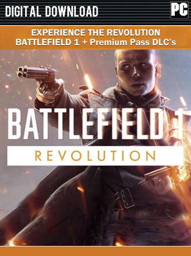 Battlefield 1 Revolution Edition cd key